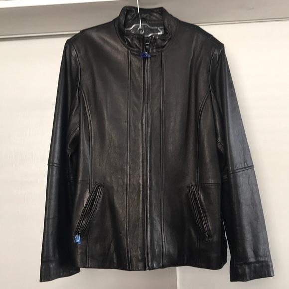 Nautica Jackets & Blazers - Nautica leather jacket